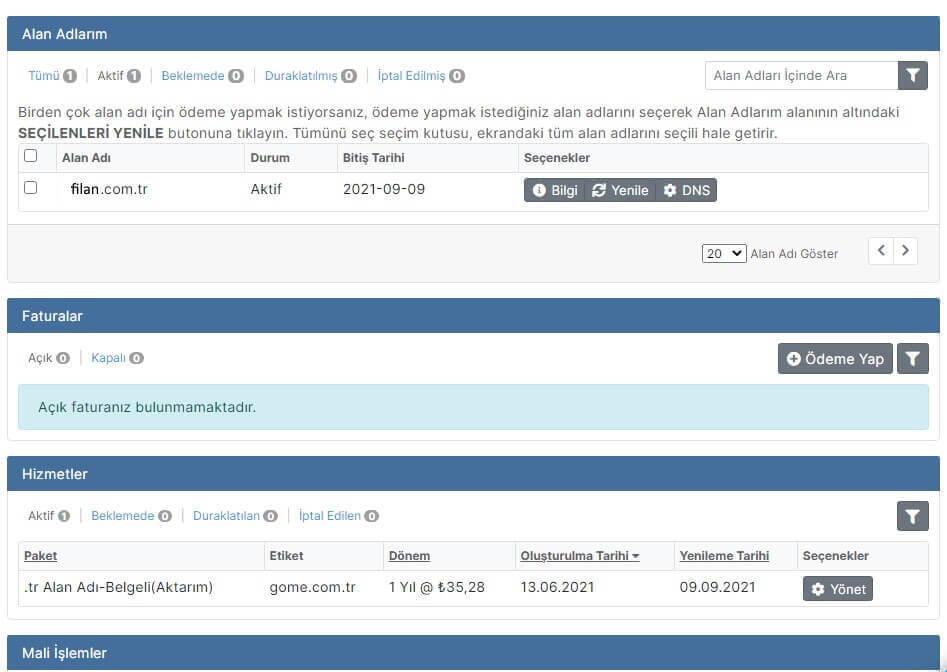 Metunic Domain Yönlendirme Nasıl Yapılır?